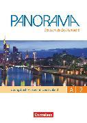 Cover-Bild zu Panorama, Deutsch als Fremdsprache, A2: Gesamtband, Übungsbuch DaZ mit Audio-CDs, Leben in Deutschland von Böschel, Claudia