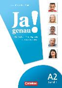Cover-Bild zu Ja genau!, Deutsch als Fremdsprache, A2: Band 1, Kurs- und Übungsbuch mit Lösungsbeileger und Audio-CD von Böschel, Claudia
