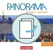 Cover-Bild zu Panorama, Deutsch als Fremdsprache, A2: Teilband 2, Kursbuch und Übungsbuch DaZ, 120493-8 und 120605-5 im Paket von Böschel, Claudia
