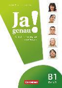 Cover-Bild zu Ja genau!, Deutsch als Fremdsprache, B1: Band 1, Kurs- und Übungsbuch mit Lösungsbeileger und Audio-CD von Böschel, Claudia