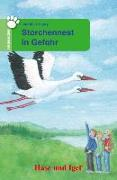 Cover-Bild zu Storchennest in Gefahr. Schulausgabe von Le Huray, Judith
