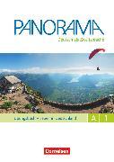Cover-Bild zu Panorama, Deutsch als Fremdsprache, A1: Gesamtband, Übungsbuch DaZ mit Audio-CDs, Leben in Deutschland von Böschel, Claudia