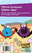 Cover-Bild zu FRESCH-Kartenspiel: Silben raus! von Zimmermann, Corinne