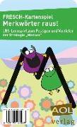 Cover-Bild zu FRESCH-Kartenspiel: Merkwörter raus! von Zimmermann, Corinne