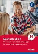 Cover-Bild zu Phonetik - Übungen und Tipps für eine gute Aussprache A2 (eBook) von Niebisch, Daniela