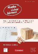 Cover-Bild zu Mathe sicher können, 5./6. Schuljahr, Förderbausteine Natürliche Zahlen, Handreichungen für ein Diagnose- und Förderkonzept