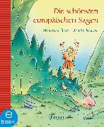 Cover-Bild zu Die schönsten europäischen Sagen (eBook) von Inkiow, Dimiter