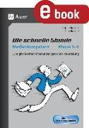 Cover-Bild zu Die schnelle Stunde Medienkompetenz - Klasse 1-4 (eBook) von Reichel, Sabine