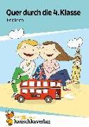 Cover-Bild zu Quer durch die 4. Klasse, Englisch - A5-Übungsblock von Heiß, Helena