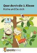 Cover-Bild zu Quer durch die 3. Klasse, Mathe und Deutsch - Übungsblock von Harder, Tina