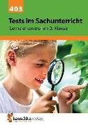 Cover-Bild zu Tests im Sachunterricht - Lernzielkontrollen 3. Klasse, A4- Heft von Guckel, Andrea