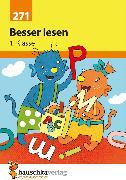 Cover-Bild zu Besser lesen 1. Klasse (eBook) von Guckel, Andrea