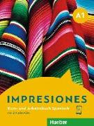 Cover-Bild zu Impresiones A1. Kursbuch + Arbeitsbuch + 2 Audio-CDs von Varela Navarro, Montserrat