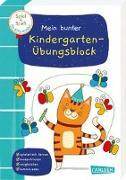 Cover-Bild zu Spiel+Spaß für KiTa-Kinder: Mein bunter Kindergarten-Übungsblock von Himmel, Anna