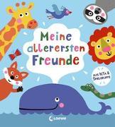 Cover-Bild zu Meine allerersten Freunde von Loewe Eintragbücher (Hrsg.)
