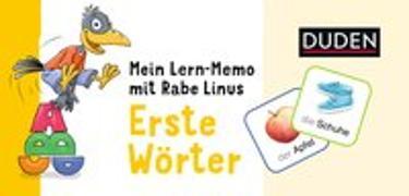 Cover-Bild zu Mein Lern-Memo mit Rabe Linus - Erste Wörter von Raab, Dorothee