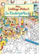 Cover-Bild zu Mein Lieblings-Malbuch - Im Kindergarten von Wandrey, Guido (Illustr.)
