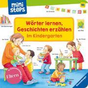 Cover-Bild zu Wörter lernen, Geschichten erzählen: Im Kindergarten von Grimm, Sandra