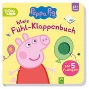 Cover-Bild zu Peppa Pig Mein Fühl-Klappenbuch von Teller, Laura
