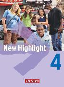 Cover-Bild zu New Highlight, Allgemeine Ausgabe, Band 4: 8. Schuljahr, Schülerbuch, Festeinband von Donoghue, Frank