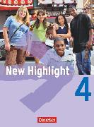 Cover-Bild zu New Highlight, Allgemeine Ausgabe, Band 4: 8. Schuljahr, Schülerbuch, Kartoniert von Donoghue, Frank