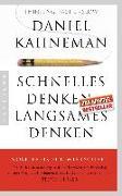 Cover-Bild zu Schnelles Denken, langsames Denken von Kahneman, Daniel