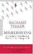 Cover-Bild zu Misbehaving von Thaler, Richard