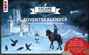 Cover-Bild zu Adventskalender Escape Adventures 2019 von Zimpfer, Simon