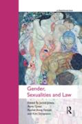 Cover-Bild zu Gender, Sexualities and Law (eBook) von Jones, Jackie (Hrsg.)