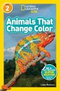 Cover-Bild zu Animals That Change Color (L2) (National Geographic Readers) (eBook) von Romero, Libby