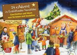 Cover-Bild zu 24 x Advent im Erzähltheater Kamishibai. Adventskalender von Lefin, Petra (Illustr.)