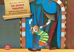 Cover-Bild zu Die dumme Augustine. Kamishibai Bildkartenset von Preußler, Otfried