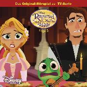 Cover-Bild zu Disney - Rapunzel - Folge 5: Blind vor Liebe/ Die wütende Prinzessin (Audio Download) von Koch, Dieter