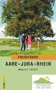 Cover-Bild zu Freizeitkarte Aare - Jura - Rhein. 1:60'000 von dreiklang.ch (Hrsg.)