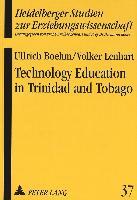 Cover-Bild zu Technology Education in Trinidad and Tobago von Lenhart, Volker