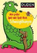 Cover-Bild zu Mein großer Spiel-und Spaßblock: Schwungübungen von Braun, Christina