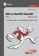 Cover-Bild zu Die schnelle Stunde Ethik Kl.3-4 von Moers, Edelgard