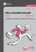 Cover-Bild zu Die schnelle Stunde Kunst Kl. 1-2 von Fischer, Verena