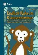 Cover-Bild zu Endlich Ruhe im Klassenzimmer von Reichel, Sabine