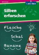 Cover-Bild zu Silben erforschen von Reichel, Sabine