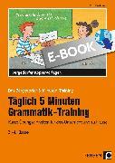 Cover-Bild zu Täglich 5 Minuten Grammatik-Training (eBook) von Kirschbaum, Klara