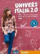 Cover-Bild zu UniversItalia 2.0 A1/A2. Kurs- und Arbeitsbuch mit 2 Audio-CDs von Piotti, Danila