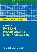 Cover-Bild zu Königs Erläuterungen: Fabian. Die Geschichte eines Moralisten von Erich Kästner (eBook) von Kästner, Erich