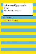 Cover-Bild zu Faust. Der Tragödie Erster Teil (eBook) von Goethe, Johann Wolfgang