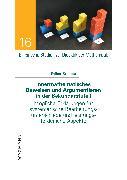 Cover-Bild zu Innermathematisches Beweisen und Argumentieren in der Sekundarstufe I (eBook) von Brunner, Esther