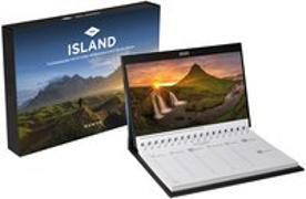 Cover-Bild zu Island Tischkalender 2021