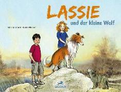 Cover-Bild zu Lassie und der kleine Wolf