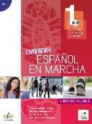 Cover-Bild zu Nuevo Español en marcha 1. Kursbuch mit Audio-CD von Castro Viúdez, Francisca