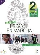 Cover-Bild zu Nuevo Español en marcha 2. Arbeitsbuch mit Audio-CD von Castro Viúdez, Francisca