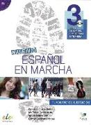Cover-Bild zu Nuevo Español en marcha 3. Arbeitsbuch mit Audio-CD von Castro Viúdez, Francisca